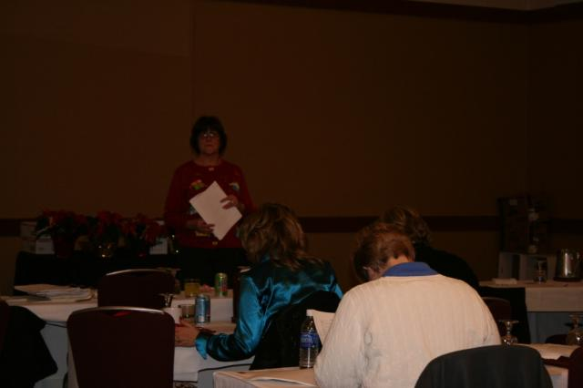 Linda training on costs analysis.